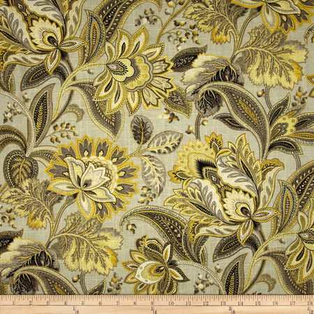 Swavelle/Mill Creek Metallic Valdosta Blend Gold Dust Fabric