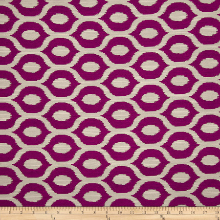 Swavelle/Mill Creek Minya Jacquard Berry Fabric