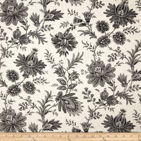 Swavelle/Mill Creek Sakari Blend Graphite Fabric