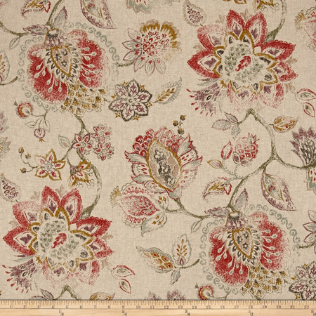 Swavelle/Mill Creek Vintage Satya Carnelian Fabric By The Yard