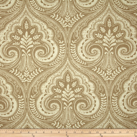Swavelle/Mill Creek Wheeling Wheat Fabric