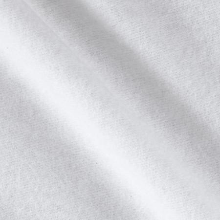 Sweatshirt Fleece Snow White Fabric