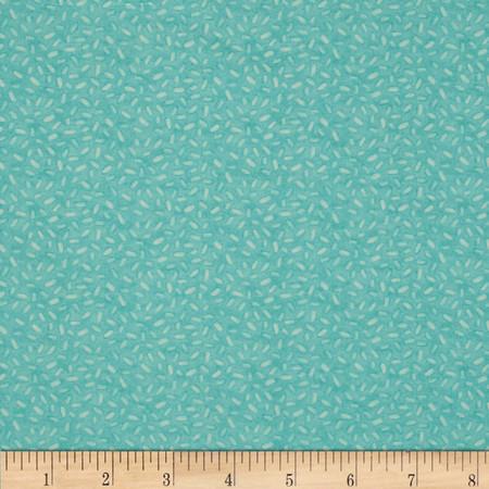 Sweet Things Tonal Sprinkles Aqua Fabric