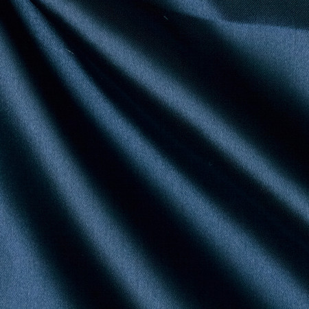 Sweetheart Satin Navy Fabric