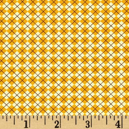 Tee Time Argyle Beige Fabric