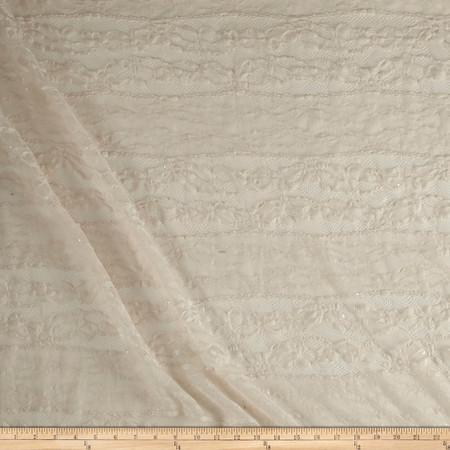 Telio Adrianna Lace Ecru Fabric By The Yard