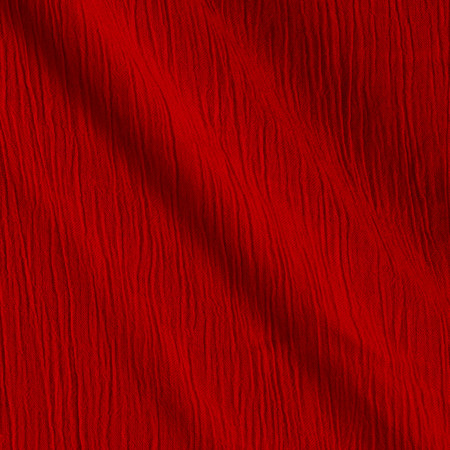 Telio Crinkle Yoryu Gauze Red Fabric By The Yard