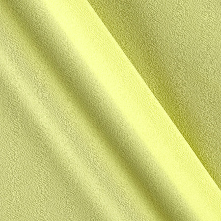Telio Misora Crepe de Chine Canary Fabric By The Yard