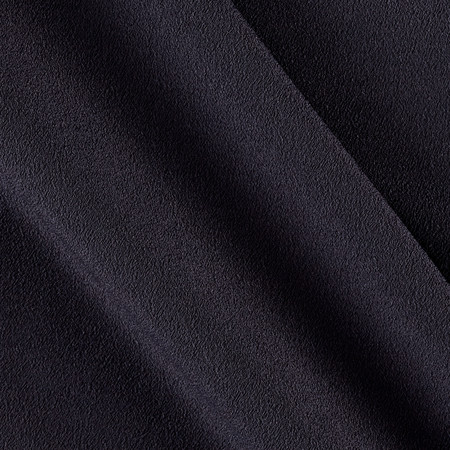 Telio Misora Crepe de Chine Charcoal Fabric By The Yard