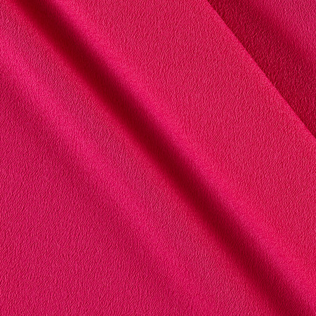 Telio Misora Crepe de Chine Fuschia Fabric By The Yard