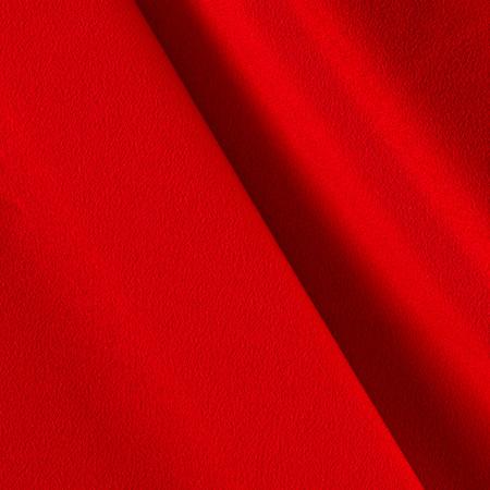 Telio Misora Crepe de Chine Red Fabric By The Yard