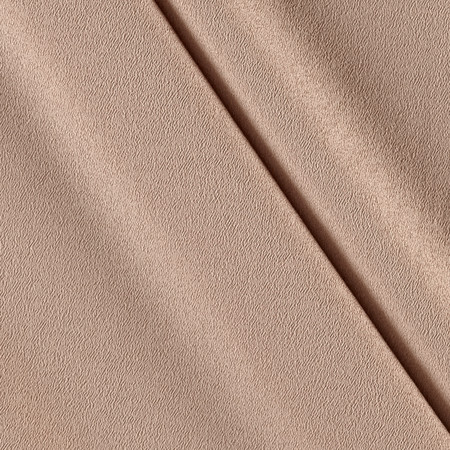 Telio Misora Crepe de Chine Taupe Fabric By The Yard