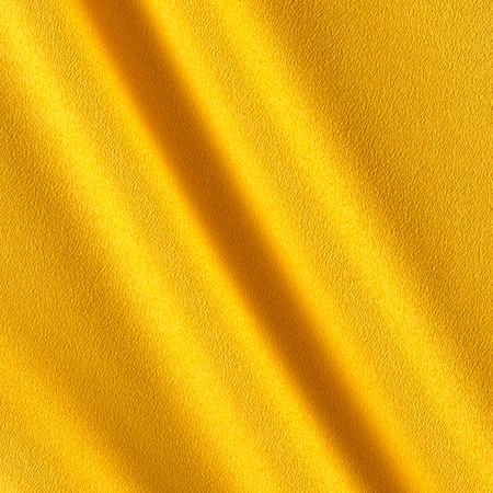 Telio Misora Crepe de Chine Yellow Fabric By The Yard