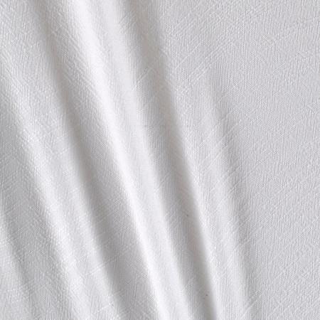 Telio Samba Viscose Gauze White Fabric By The Yard