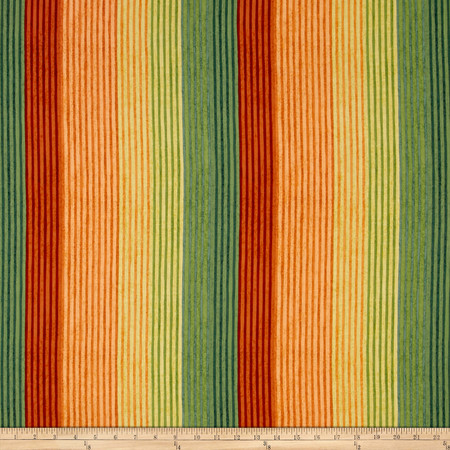The Elk Gathering Ombre Stripe Multi Fabric By The Yard