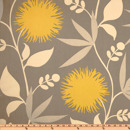 Thomas Paul Dahlia Dove Fabric