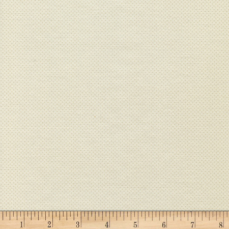 Timeless Treasures Pin Dots Cream Fabric