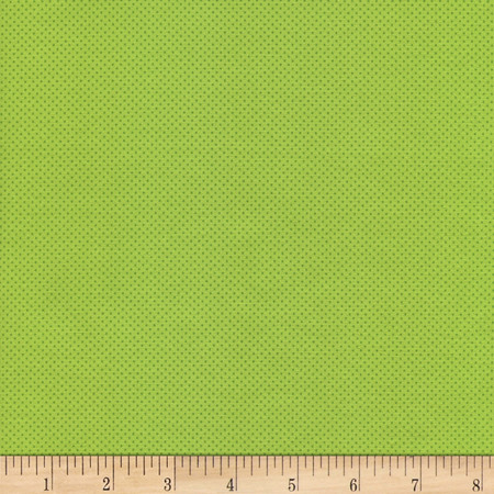 Timeless Treasures Pin Dots Lime Fabric
