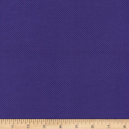 Timeless Treasures Pin Dots Purple Fabric