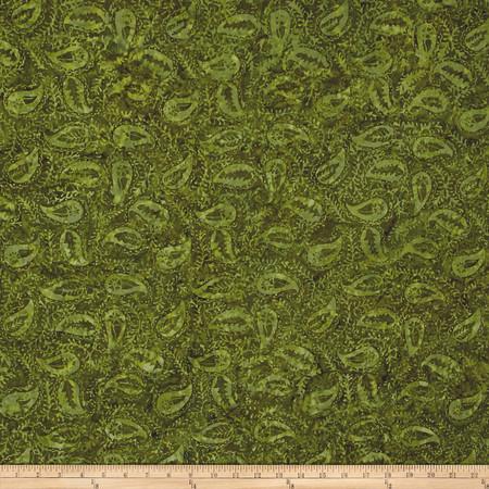 Timeless Treasures Tonga Batik Autumn Paisley Fabric By The Yard