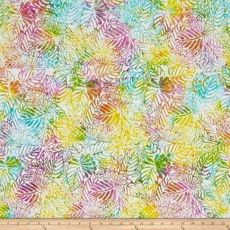 Timeless Treasures Tonga Batik Candy Shop Block Print Fabric By The Yard