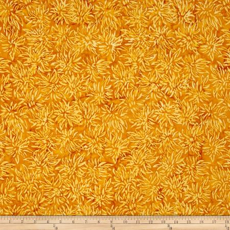 Timeless Treasures Tonga Batik Citrus Mint Thistle Squash Fabric