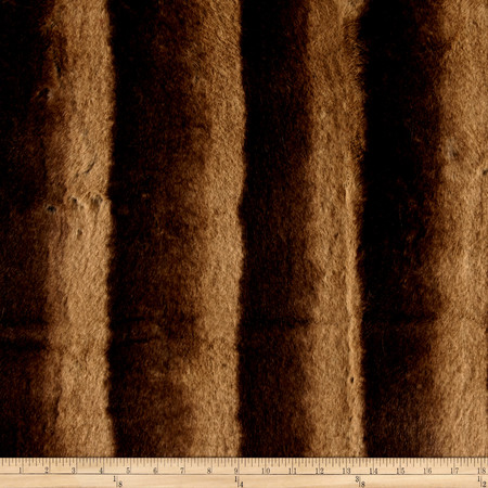 Tissavel Niagara Faux Fur Honey Fabric By The Yard