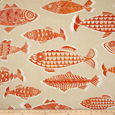 Tommy Bahama Home Fishful Thinking Coral Reef Fabric By The Yard
