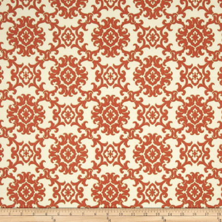 Tommy Bahama Indoor/Outdoor Medallion Isle Toffee Fabric By The Yard