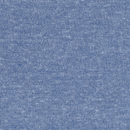 Tri Blend French Terry Knit Chambray Fabric By The Yard