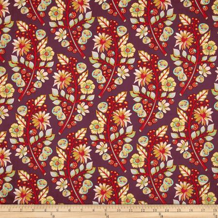 Tula Pink Moon Shine Sprout Jam Fabric By The Yard