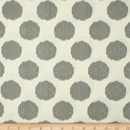 Tula Pink Moon Shine Static Dot Silver Fabric By The Yard