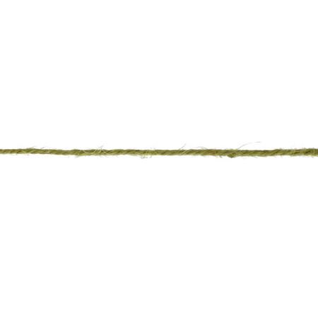 Twisted Burlap String Olive