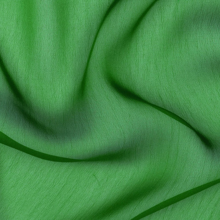 Two Tone Chiffon Flag Green Fabric By The Yard