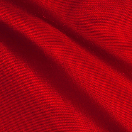 Two Tone Taffeta Red Fabric By The Yard