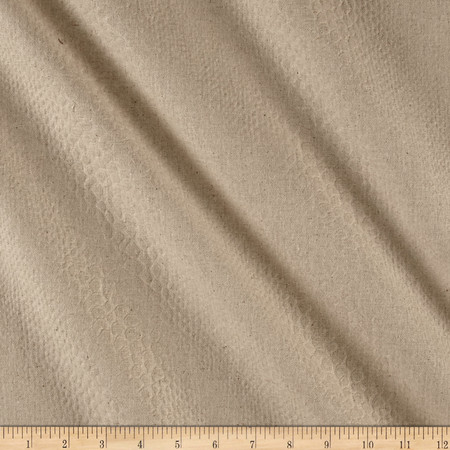 Upholstery Snakeskin Beige Fabric By The Yard