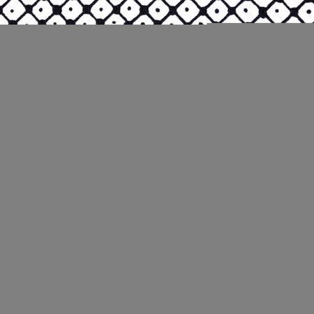 Valori Wells Small Grid Ebony Fabric