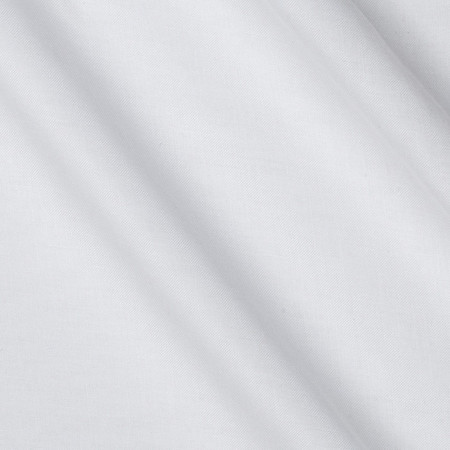 Telio Viscose Rayon Challis White Fabric By The Yard