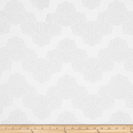Waverly Airwaves Drapery Sheer Cream Fabric