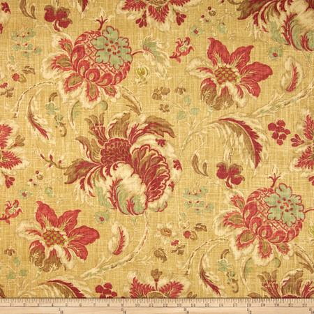 Waverly Arbor Imagery Slub Vintage Fabric