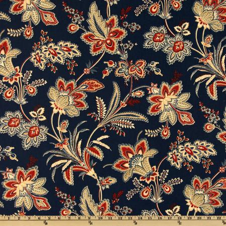 Waverly Barano Americana Fabric By The Yard