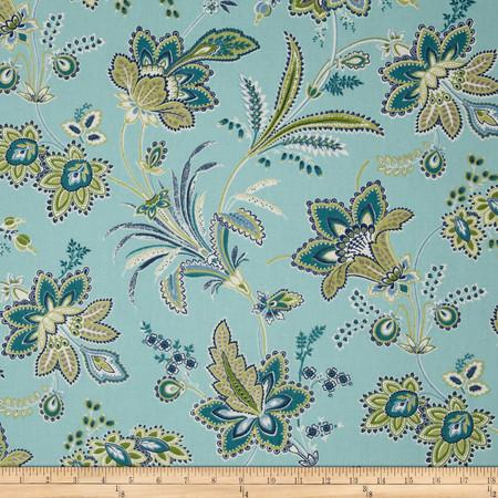 Waverly Barano Seaspray Fabric By The Yard
