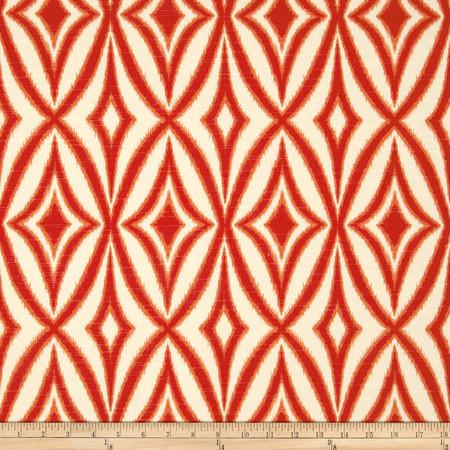Waverly Centro Slub Campari Fabric
