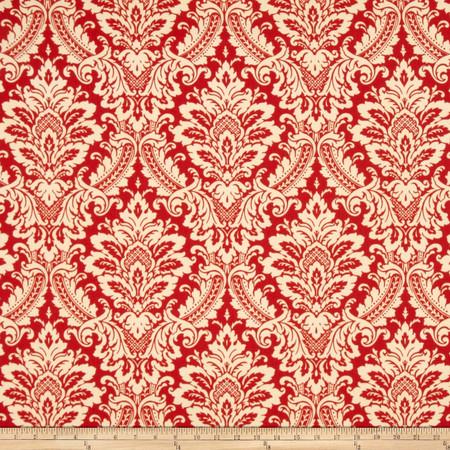Waverly Donnington Crimson Fabric By The Yard
