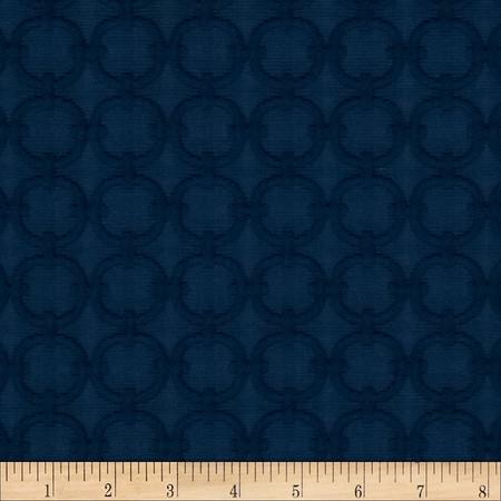 Waverly Full Circle Blue Marine Fabric By The Yard
