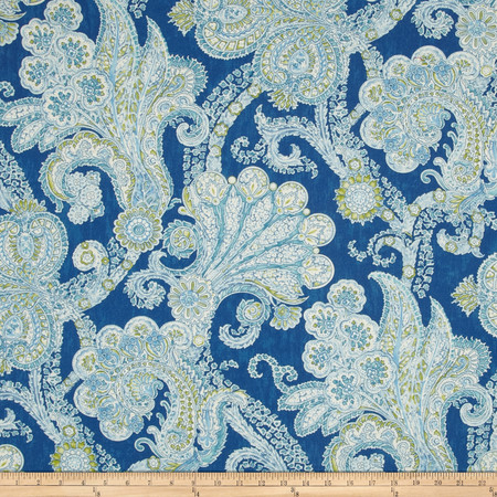 Waverly Grand Gesture Twill Porcelain Fabric By The Yard