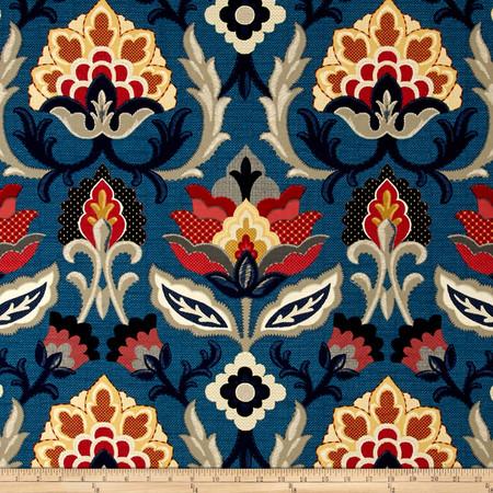 Waverly Isadora Adriatic Fabric By The Yard