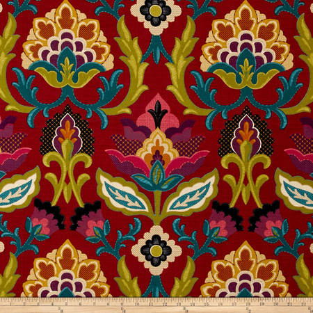Waverly Isadora Fiesta Fabric By The Yard