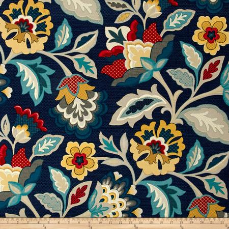 Waverly Katia Adriatic Fabric By The Yard