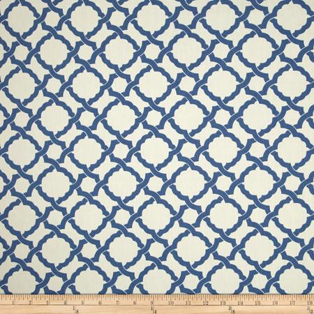 Waverly Kent Crossing Cornflower Fabric